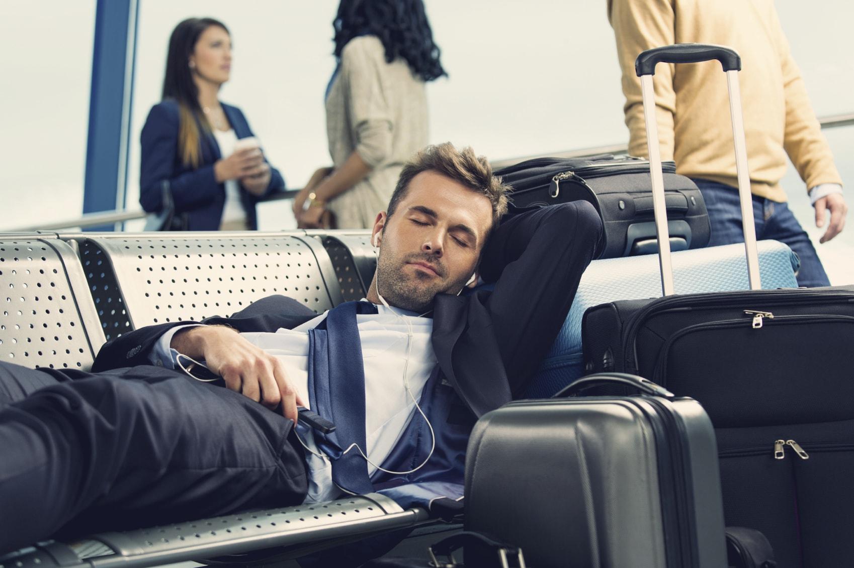 Sleeping on the go